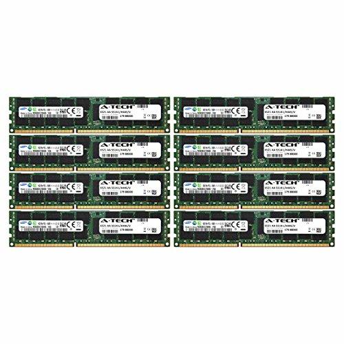 A-Tech Samsung 128GB Kit 8x 16GB PC3-12800 1.35V For HP P...