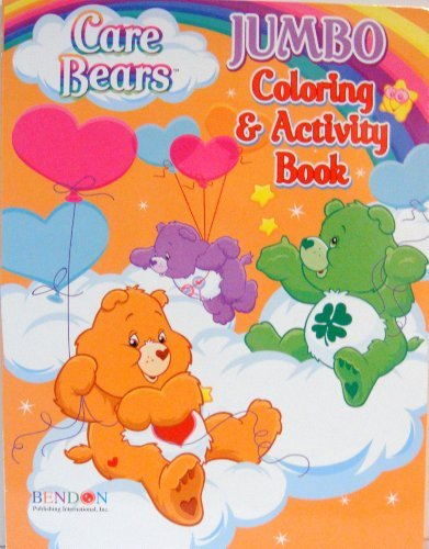 CARE BEARS BEARS BEARS FarbeING & ACTIVITY BOOK (D) by Bendon Publishing 9a2fb0