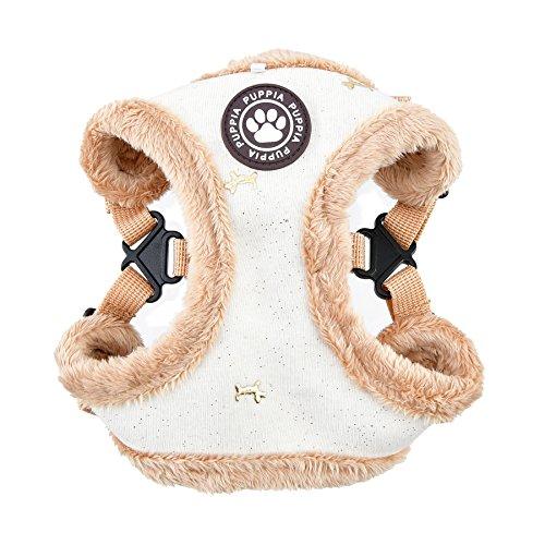 Puppia Gia Harness C, Medium, Ivory