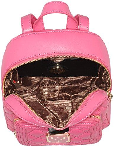 B H x JC4005 x Donna 8x27x23 Pink Love Shopper Rosa cm Moschino T FxgqCwnYOp
