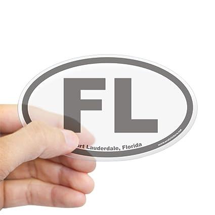 Amazon Com Cafepress Fort Lauderdale Fl Euro Oval Sticker Oval