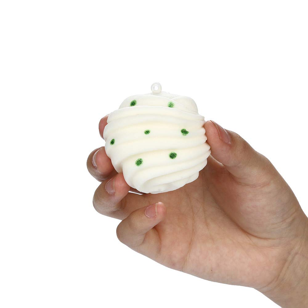 ️ Yu2d ❤️❤️ ️Squishies Rolls of Bread Scented Slow Rising Squeeze Toys Stress Reliever Toys