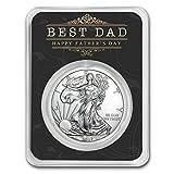 #1: 2017 1 oz Silver American Eagle - Father's Day 1 OZ Brilliant Uncirculated