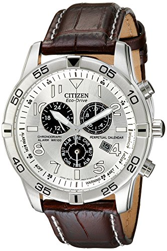 Citizen-Mens-BL5470-06A-Stainless-Steel-Eco-Drive-Watch-with-Leather-Band