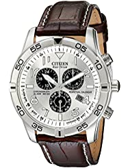 Citizen Mens Eco-Drive Chronograph Watch with Perpetual Calendar and Date, BL5470-06A