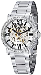 Stuhrling Original Women's 430L.12112 Symphony Regent Lady Consul Automatic Skeleton Swarovski Crystal Stainless Steel Bracelet Watch