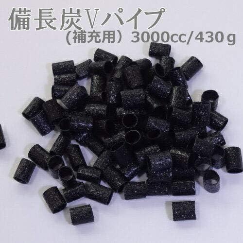 つめっこ・備長炭パイプ(補充用)3000cc /430g/(かたさ:やわらかめ)枕の中身の詰め替え/調湿・脱臭