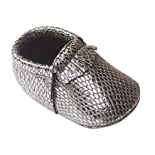 TANGDA Infant Baby Toddler Newborn Leather Soft Sole Tassel Pre-Walkers Shoes Moccasins Slip-on Crib Shoes 4 Style Available