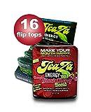 TeaZa Energy's Bangin' Black Cherry Bomb 16 Flip Tops – Have More Energy Anywhere!