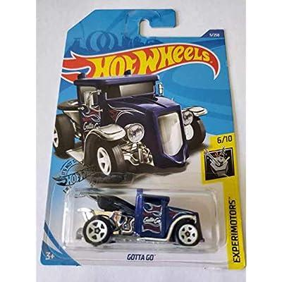 Hot Wheels 2020 Experimotors Gotta Go (Toilet Car) 5/250, Blue: Toys & Games
