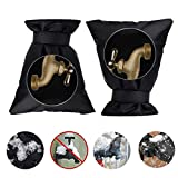 Outside Water Tap Cover,Faucet Cover Socks Tap Jacket Frost Freeze Protector for Winter Outdoor Faucet Cover Socks(2 Packs),B