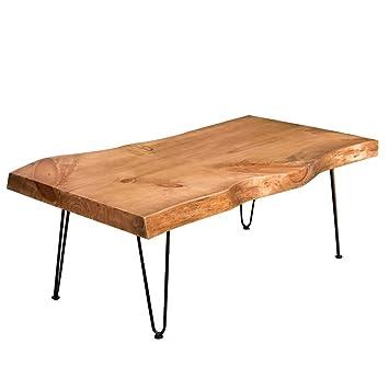 Mesas de café para Sala de Estar, losa de Tronco, sofá, Mesa de té ...