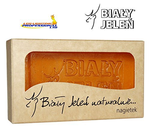 BIALY JELEN - Hypoallergenic glycerin soap with a marigold extract - 100g