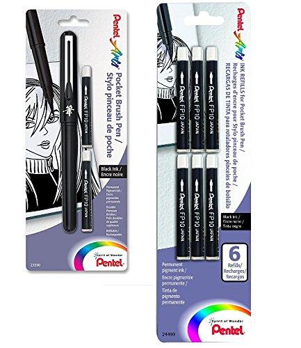 Pentel Pocket Refills GFKP3BPA FP10BP6A
