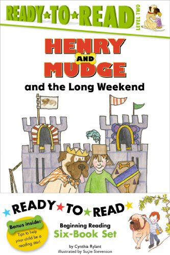 Henry and Mudge Ready-to-Read Value Pack #2: Henry and Mudge and the Long Weekend; Henry and Mudge and the Bedtime Thumps; Henry and Mudge and the Big ... Mudge and - Weekend Set