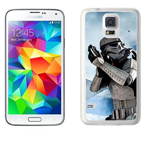 Star Wars Das Erwachen der Macht Stormtrooper Schutzhülle für Samsung Galaxy S5SM G900F (Motiv 14)