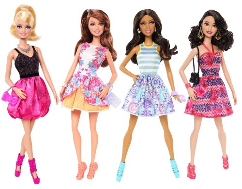 Barbie Fashionistas Doll (4-Pack) by Barbie
