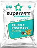 Cheap SuperEats High protein Puffs, Truffle Rosemary, 3 Ounce (Pack of 12)