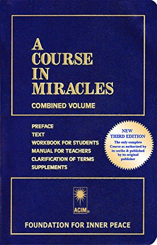 A Course in Miracles cover