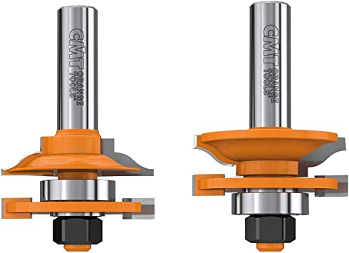 CMT Orange Tools 991.501.11 Juego 2 fresas para juntas m+f hm s 12 d 44.4