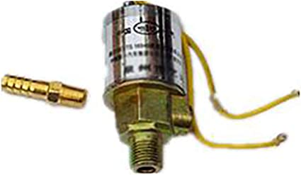 12V Air Horns Solenoid Valve /& Air Ride Systems 1//4inch Metal Train Truck Air Horn Electric Solenoid Valve