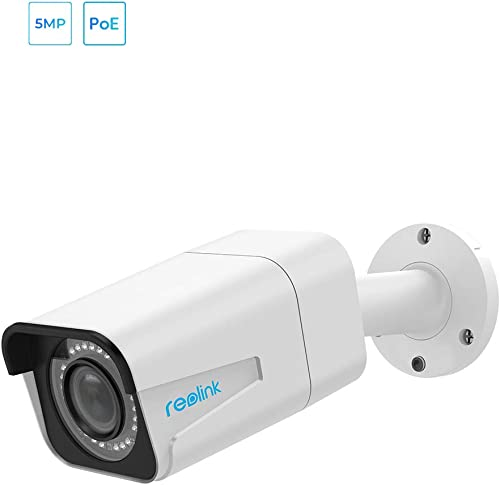 REOLINK PoE Security Camera Outdoor 4X Optical Zoom 5MP Super HD Work