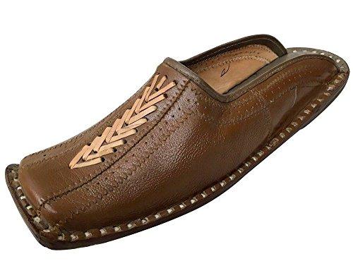 Step n Style Schritt N Style Handarbeit Bohemian Hippie Ethno Folien Pantoletten Leder Schuhe juttis