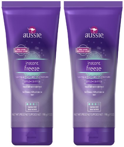 Aussie Instant Freeze Sculpting Gel, 7 oz, 2 (Instant Freeze Sculpting Gel)