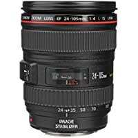 Canon EF 24-105mm f/4L IS USM AutoFocus Wide Angle Telephoto Zoom Lens - International Version (No Warranty)