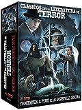 Classic Horror Literature Collection (3 Films) - 4-DVD Box Set ( Frankenstein / The Hound of the Baskervilles / Dracula ) [ Origine Espagnole, Sans Langue Francaise ]