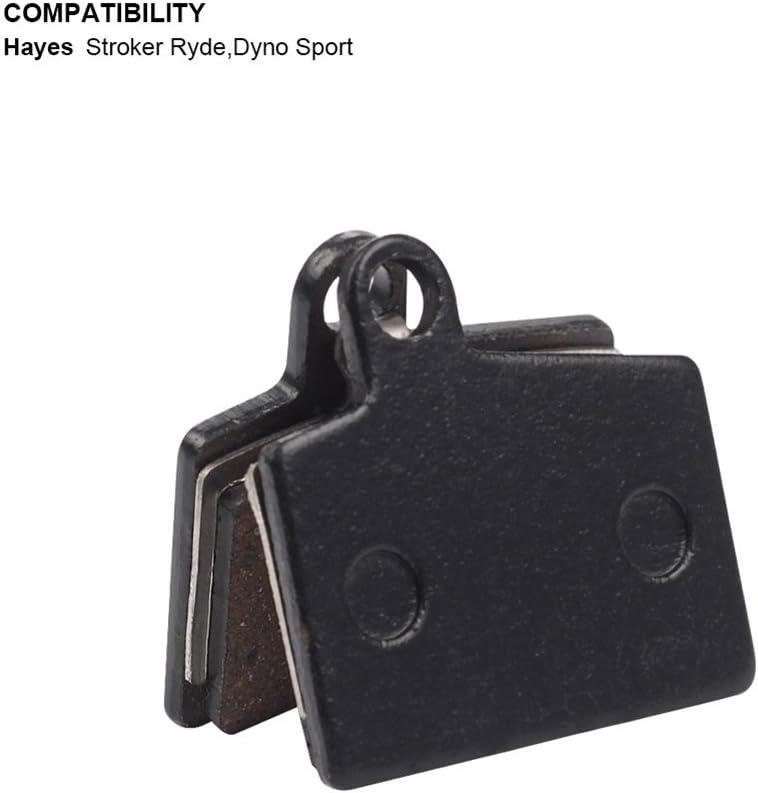 4 Pares de Bicicletas Pastillas de Freno de Disco de Bicicleta Kits para Hayes Stroker RYDE Sport Pastillas de Freno de Disco de Bicicleta