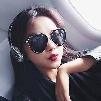 Sunyan Red roja Coreana Hombres Moda Gafas de Sol Gafas de ...