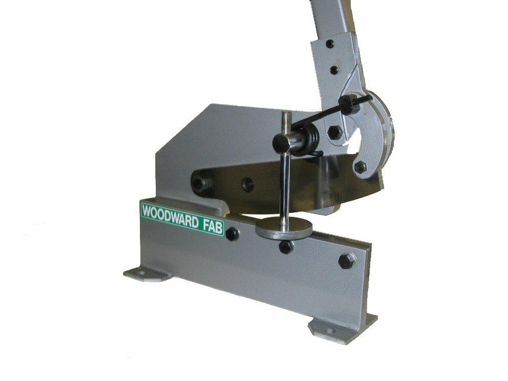 Woodward-Fab 8'' throatless metal cutting shear