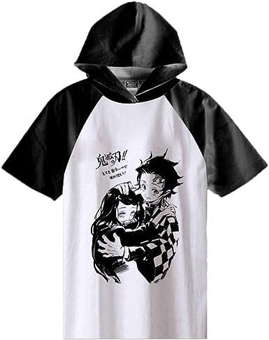 Demon Slayer T-Camisa,Kimetsu No Yaiba Anime Suéter con ...