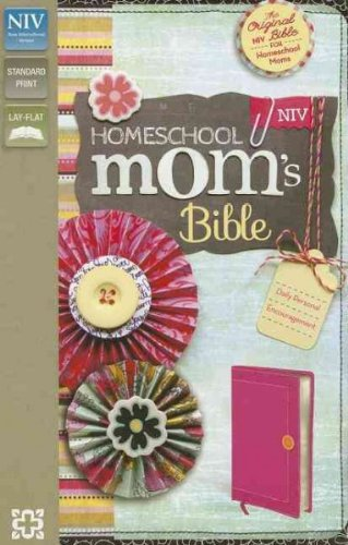 Homeschool Moms Bible Daily Personal Encouragement New International