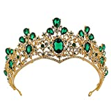 Tiara Crown Exqusite Baroque Colorful Hair Band Headwear Hair Accessories for Wedding Party (HG251)
