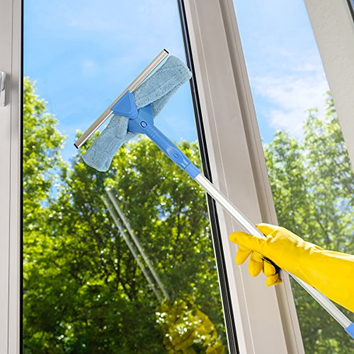 Carrand Rv Window Cleaner : Window cleaner tool in glass washer kit microfiber