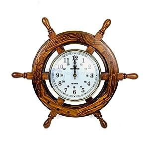 51FtBePw6kL._SS300_ Coastal Wall Clocks & Beach Wall Clocks