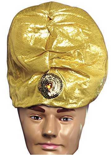 Forum Gold Lame' Turban