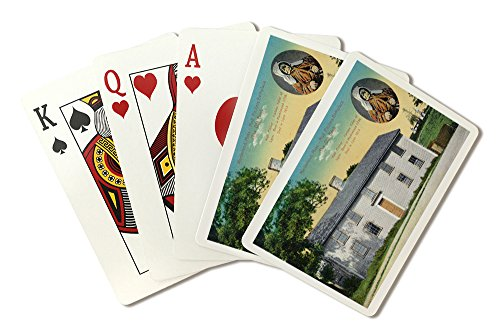 Marblehead, Massachusetts - Exterior View of Moll Pitchers Birthplace (Playing Card Deck - 52 Card Poker Size with Jokers)