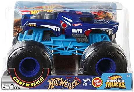 Hot Wheels Monster Trucks 1:24 Hotweiler Vehicle