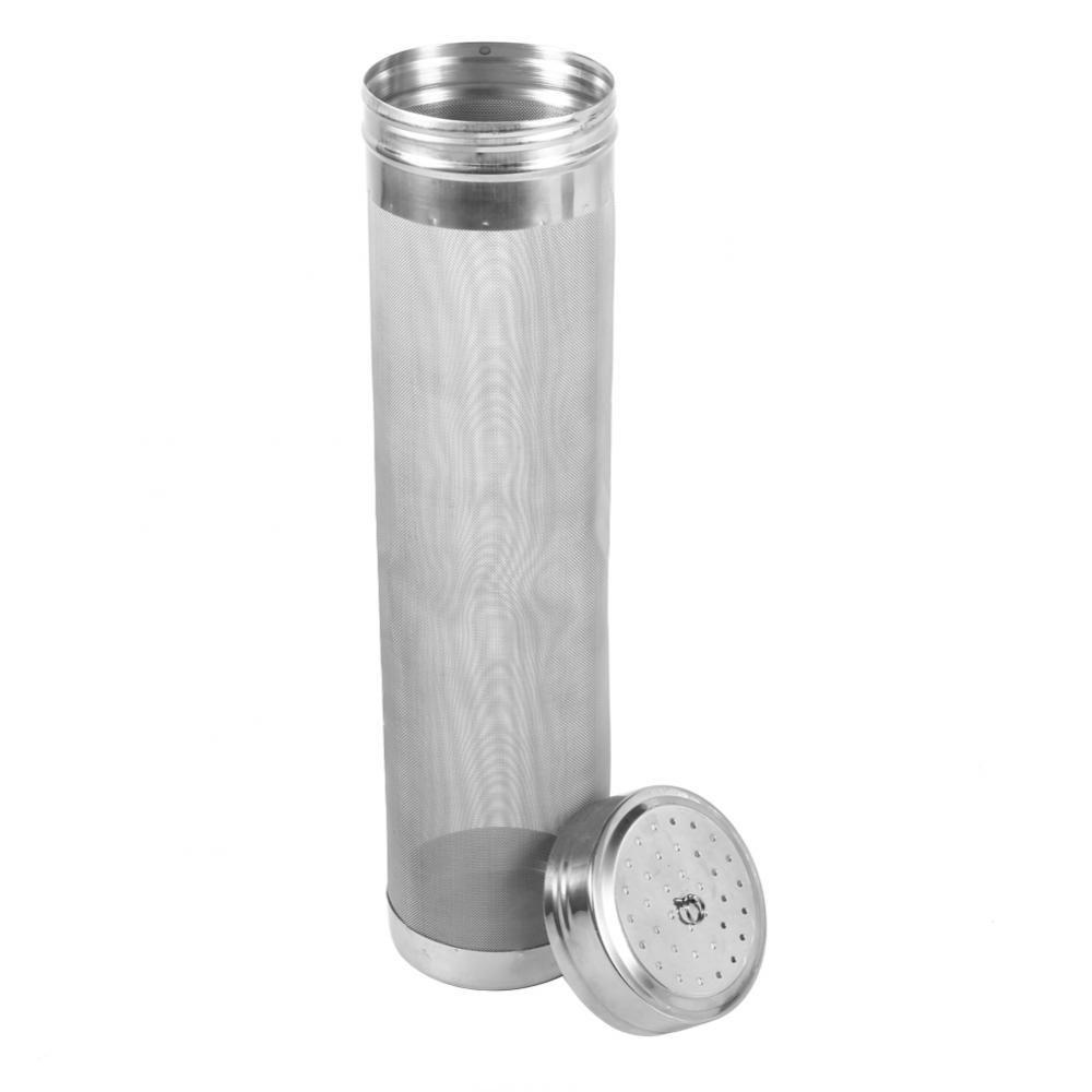 Dry Hopper, Stainless Steel Beer Dry Hopper Filter Wine Hopper Strainer 300 Micro Mesh for Home Kitchen Beer Coffee Bar Accessory