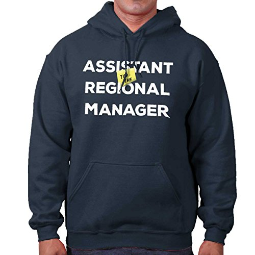 Hooded Assistant Sweatshirt (Brisco Brands Assistant to Regional Manager Show Comedy Hoodie)