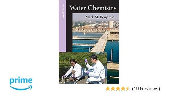 water chemistry second edition mark m benjamin 9781478623083 rh amazon com Aqueous Solution Colligative Properties