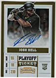 2017 Panini Chronicles Contenders Rookie Playoff Ticket Autograph #20 Josh Bell SER/99 Pittsburgh Pirates