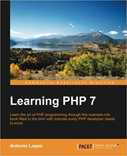 Learning PHP 7 ISBN-13 9781785880544
