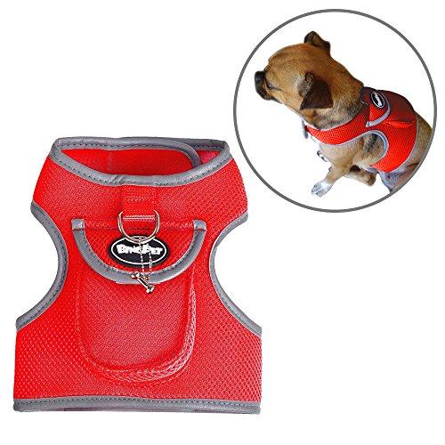 BINGPET Backpack Harness Puppy Vest