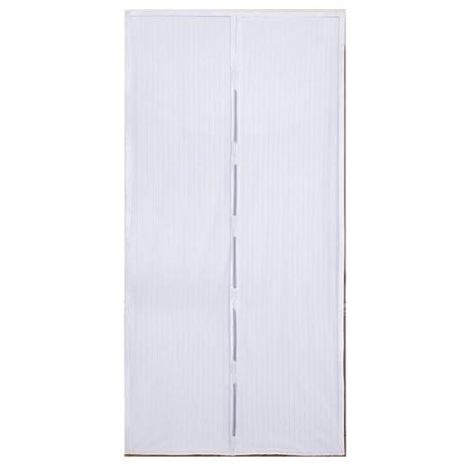 52 opinioni per Tenda Zanzariera Magnetica Standard, colore Bianca 140x240 euronovità EN-23810