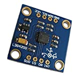Liobaba Portable Size L3G4200D Triple Axis Triaxial Digital Gyroscope Sensor Module Angular Velocity Perfect Replacement