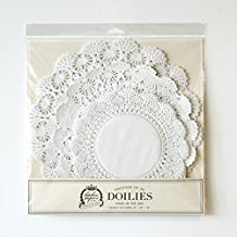 Paper Doilies Pack 30 Three Sizes American Made. By Kitchen Papers